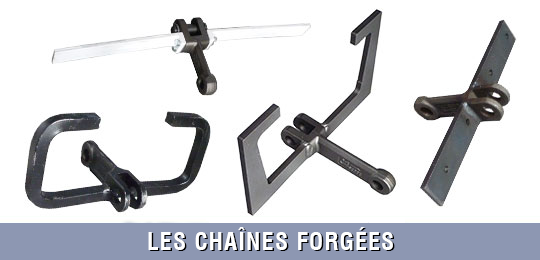 chaines forgées