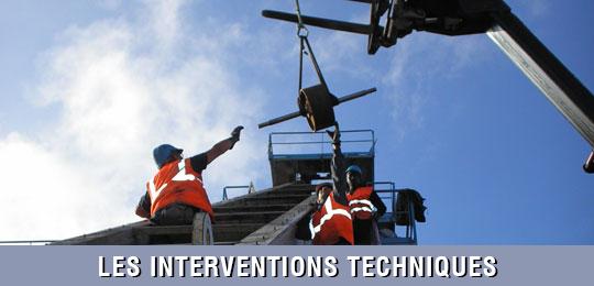 Interventions techniques convoyeurs et élévateurs